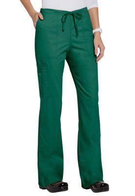 Cherokee Uniforms 4044 Mid Rise Drawstring Cargo Pant