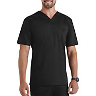 Landau Smart Stretch Men's V-neck Stretch Tops