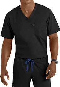 Landau Work Flow Unisex V-neck Scrub Tops