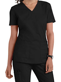 2 Pocket V-Neck Top