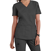 bdcc07ca259 Landau For Women Prewashed V-neck Two Pocket Scrub Tops