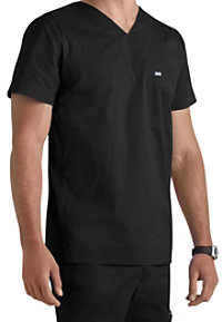 Landau For Men RipStop V-neck Scrub Tops