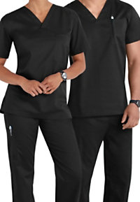 Landau All Day Unisex One Pocket Scrub Tops