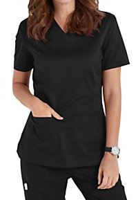Landau All Day V-neck Scrub Tops
