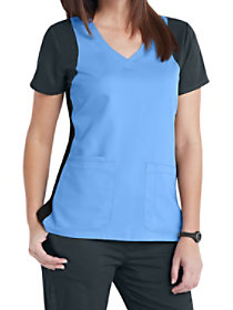 Racer Color Block Top