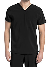 Chest Pocket V-Neck Top