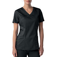 Landau Proflex Mock Wrap Top