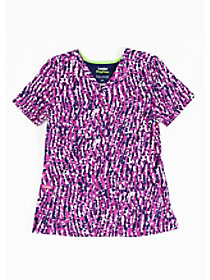 Sway With Me Orchid Print Top