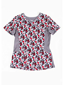 Queen of Hearts Print Top