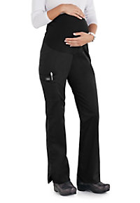 Cherokee Workwear Core Stretch Maternity Knit Waist Pull-on Scrub Pants