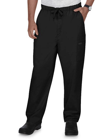 adca81546f1 Cherokee Workwear Core Stretch Men's Drawstring Cargo Scrub Pants | Scrubs  & Beyond