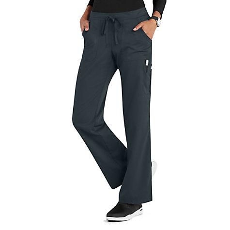 4707e1609b2 Grey's Anatomy 4 Pocket Drawstring Waist Cargo Scrub Pants | Uniform City