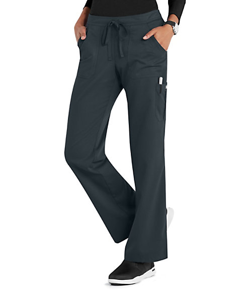 5eb8356251b Grey's Anatomy 4 Pocket Drawstring Waist Cargo Scrub Pants | Scrubs ...