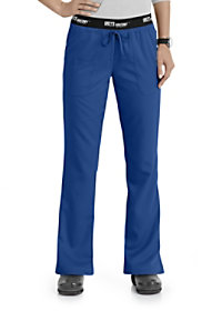 Grey's Anatomy Athletic 3 Pocket Logo Waist Scrub Pants