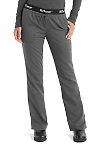 Grey's Anatomy Athletic 3 Pocket Logo Waist Scrub Pants