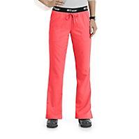 0a878e6eb15 Grey's Anatomy Athletic 3 Pocket Logo Waist Scrub Pants