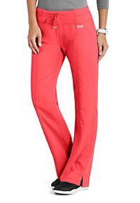 Grey's Anatomy 4 Pocket Yoga Knit Waistband Scrub Pants