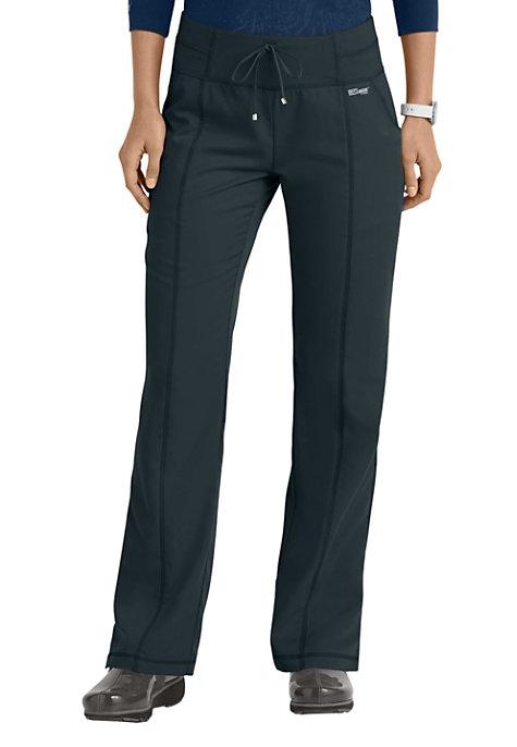f58d41f6988dd Grey's Anatomy 4 Pocket Yoga Knit Waistband Scrub Pants | Uniform City