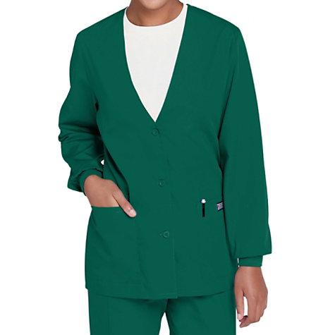 78df4bea6f9 Cherokee Workwear Cardigan Warm Up Scrub Jacket | Uniform City