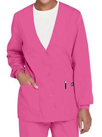 Cardigan Style Warm Up Jacket