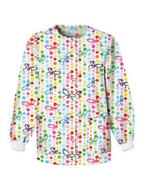 Butterfly Dots Print Jacket
