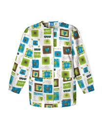 Victorian Hearts Print Jacket