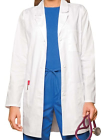 32 Inch Notched Collar Lab Coat