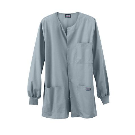 e118411228a Cherokee Workwear Men's Snap Front Scrub Jacket | Uniform City