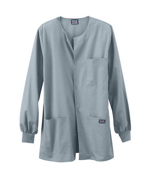 f3222ac3d02 Cherokee Workwear Men's Snap Front Scrub Jacket | Scrubs & Beyond