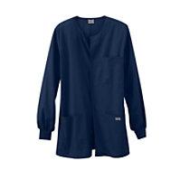 Cherokee Workwear Men's Snap Front Warm-up Jacket