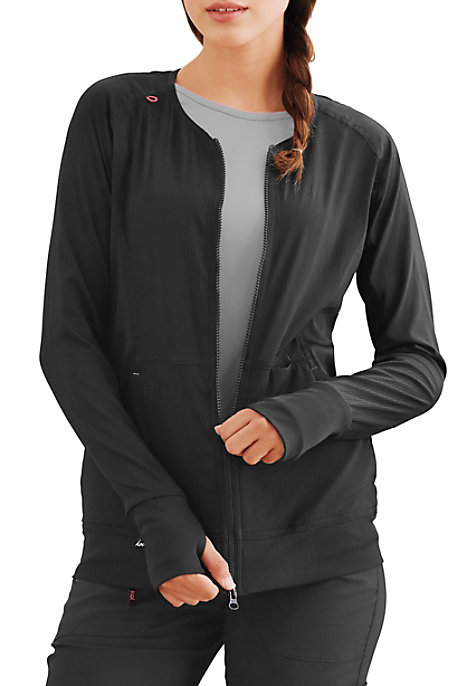Koi Lite Clarity Ribbed Panel Scrub Jackets | Scrubs & Beyond