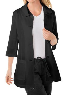 Amber 3/4 Sleeve Lab Coat