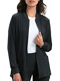 Andrea Warm Up Zip Front Jacket