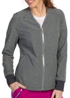 Alanna 2 Pocket Zipper Neckline Jacket