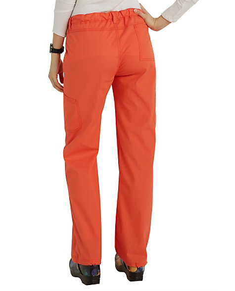 aa84d0ec4a3 prev. next. Product Video; Code Happy Bliss Drawstring Cargo Scrub Pants  With Certainty ...