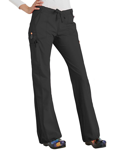 0f287388664 Code Happy Bliss Drawstring Cargo Scrub Pants With Certainty | Scrubs &  Beyond