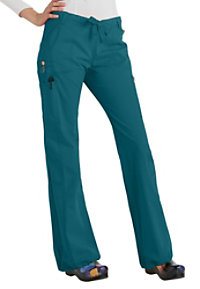 Code Happy Bliss Drawstring Cargo Scrub Pants With Certainty