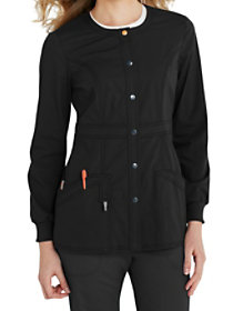 Snap Front Jacket With Certainty