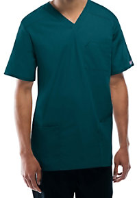 Cherokee Workwear Tall Unisex V-neck Scrub Tops