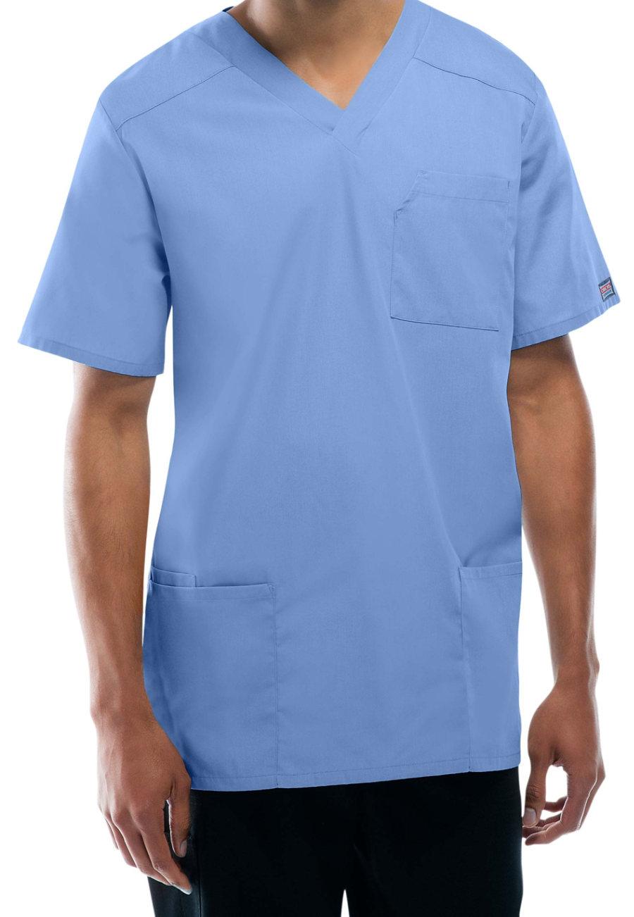 Cherokee Workwear Tall Unisex V-neck Scrub Tops