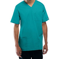 Cherokee Workwear Tall Unisex V-neck Tops