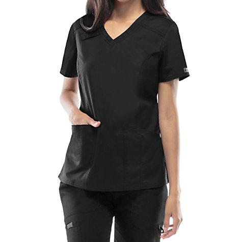 ad97735432d Cherokee Workwear Core Stretch V-neck Scrub Tops | Uniform City