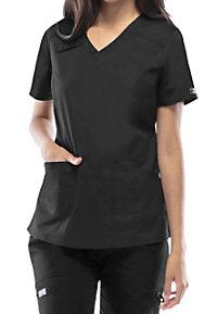 Cherokee Workwear Core Stretch V-neck Scrub Tops