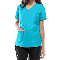 Cherokee Workwear Stretch V-neck Tops