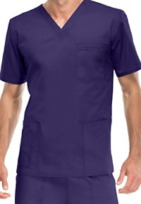 Cherokee Workwear Core Stretch Unisex V-neck Scrub Tops