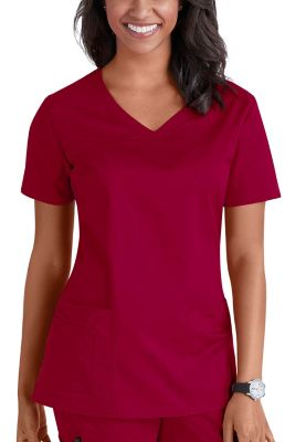 Cherokee Workwear Core Stretch Shaped V-neck Scrub Tops