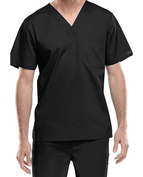 a269a2e77dc Cherokee Workwear Core Stretch Men's V-neck Scrub Tops | Scrubs & Beyond