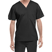 Cherokee Workwear Core Stretch Men's V-neck Tops
