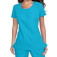 Cherokee Workwear Scoop Neck Scrub Tops