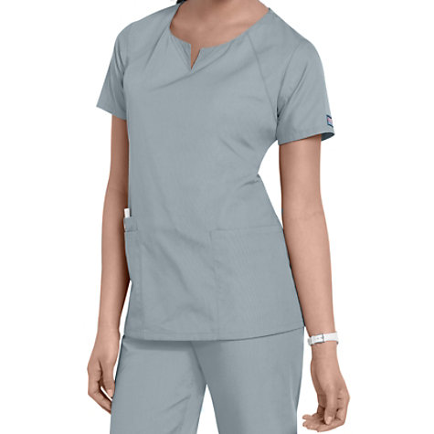 f7ab4a6bf60 Cherokee Workwear 4 Pocket Round Neck Scrub Tops | Uniform City